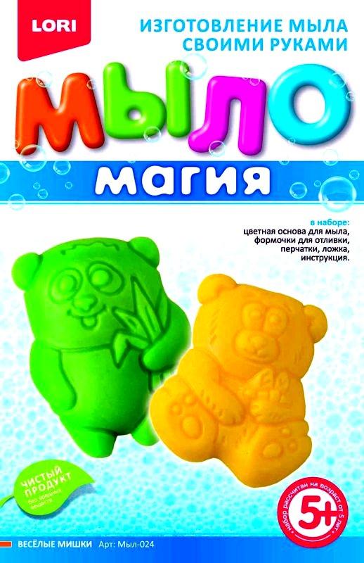 """МылоМагия """"Веселые мишки"""" Мыл-024"""