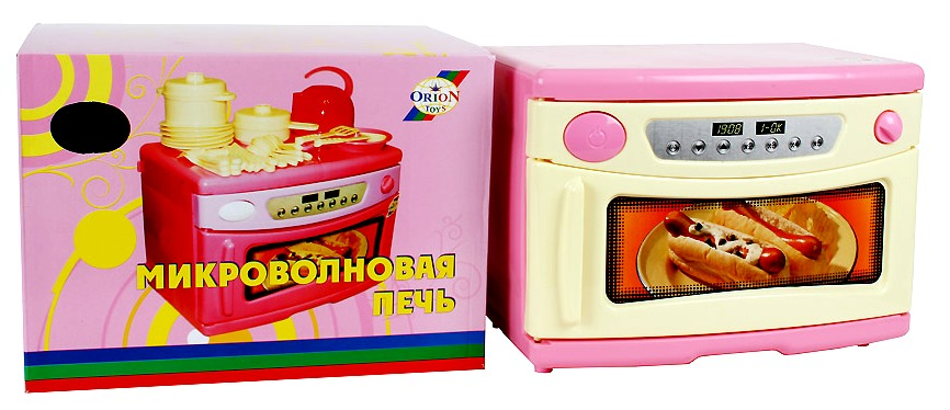 Микроволновая печь в подарочной упаковке 846а