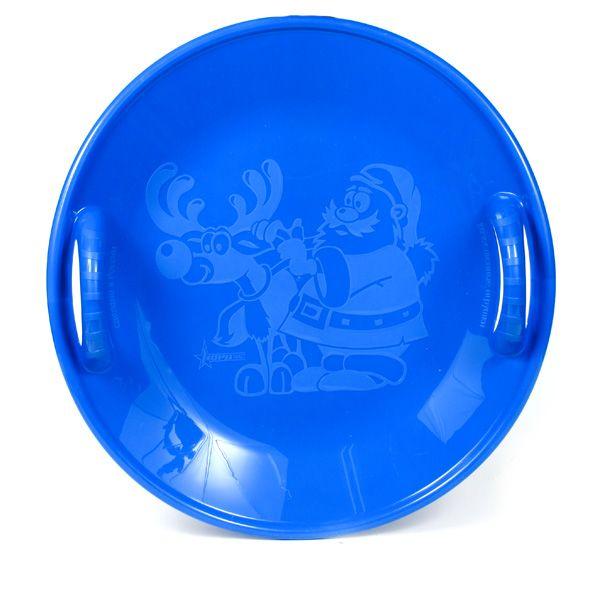 Салазка большая (58см) синяя 125/3