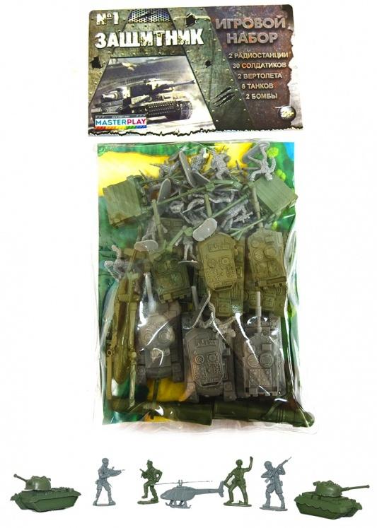 Детский набор солдатиков 1-042