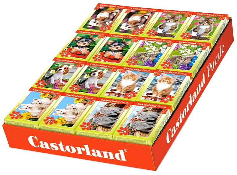 Пазлы Castorland 54    08521-Z