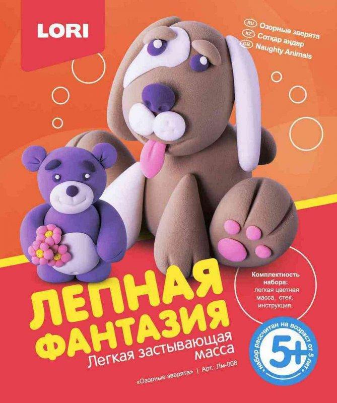 "Лепная фантазия ""Озорные зверята"" Лм-008"