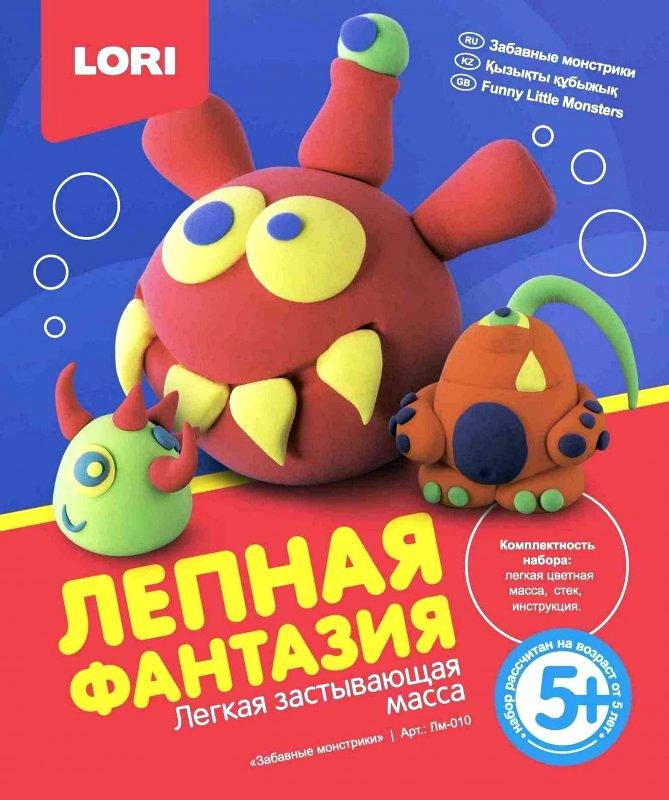 """Лепная фантазия """"Забавные монстрики"""" Лм-010"""