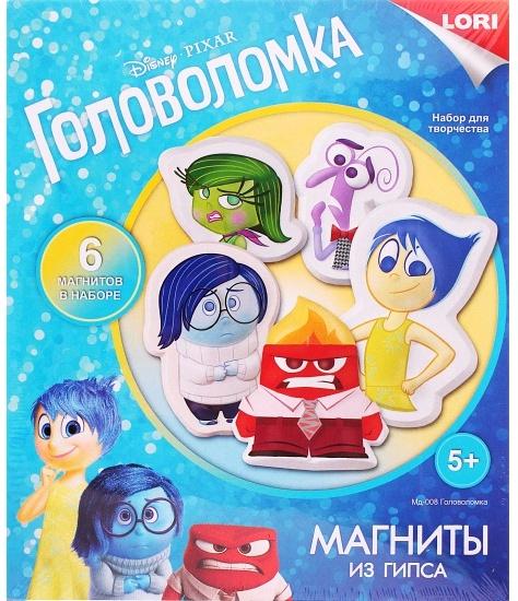 """Магниты из гипса Disney """"Головоломка"""" Мд-008"""
