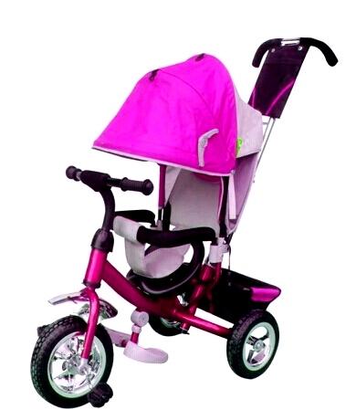 Велосипед 3х колесный  36001 розовый