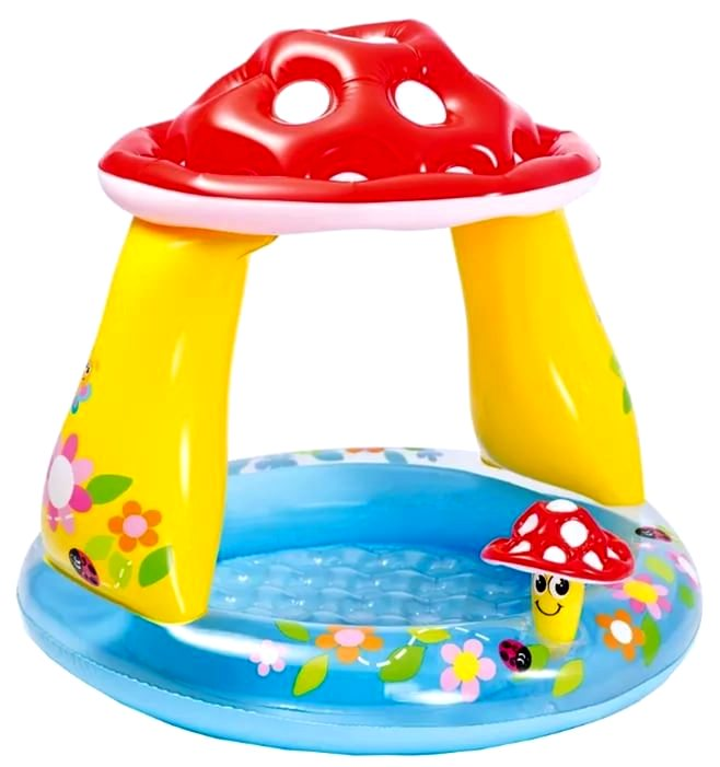Бассейн детский гриб 57114