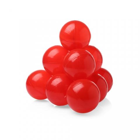 Шарики (сухой бассейн) однот. 100шт Красные