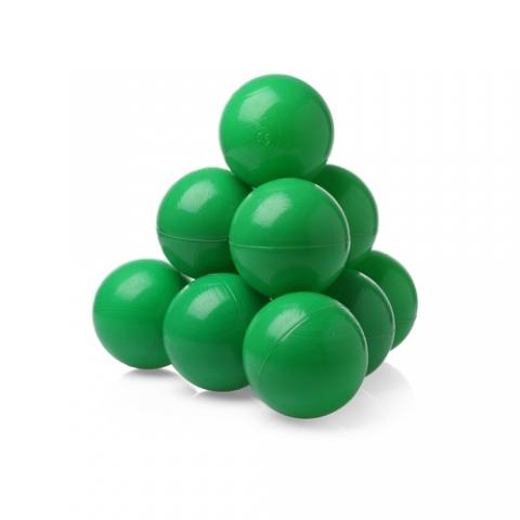 Шарики (сухой бассейн) однот. 100шт Зеленые
