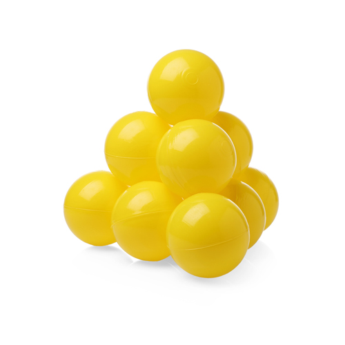 Шарики (сухой бассейн) однот. 100шт Желтые