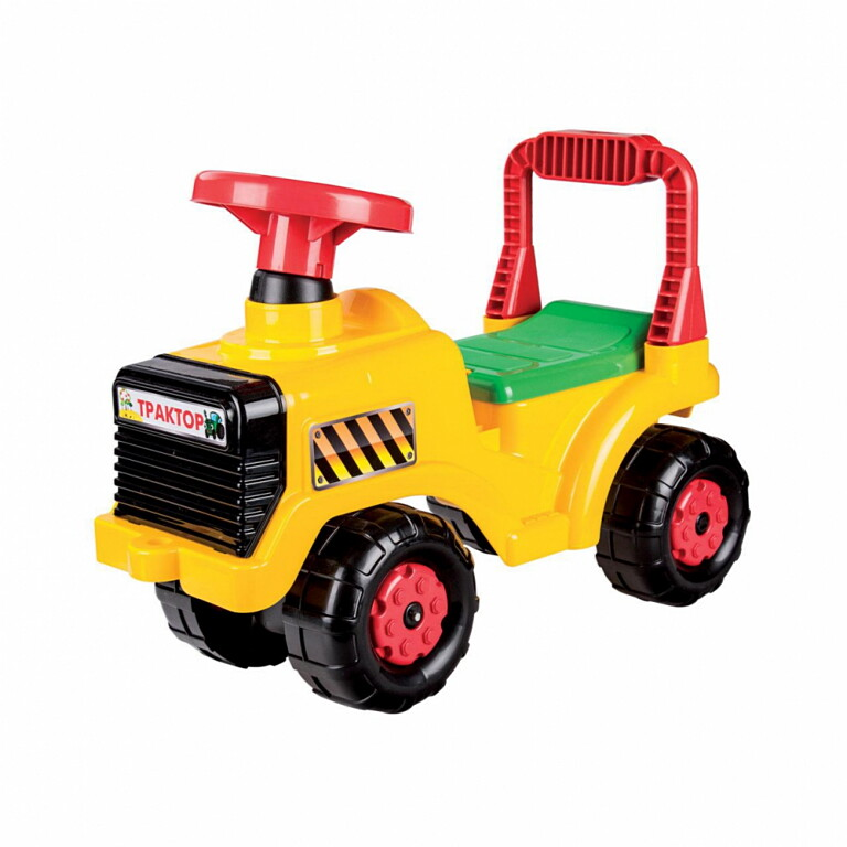 Каталка Бэби Трактор 931 жёлтая