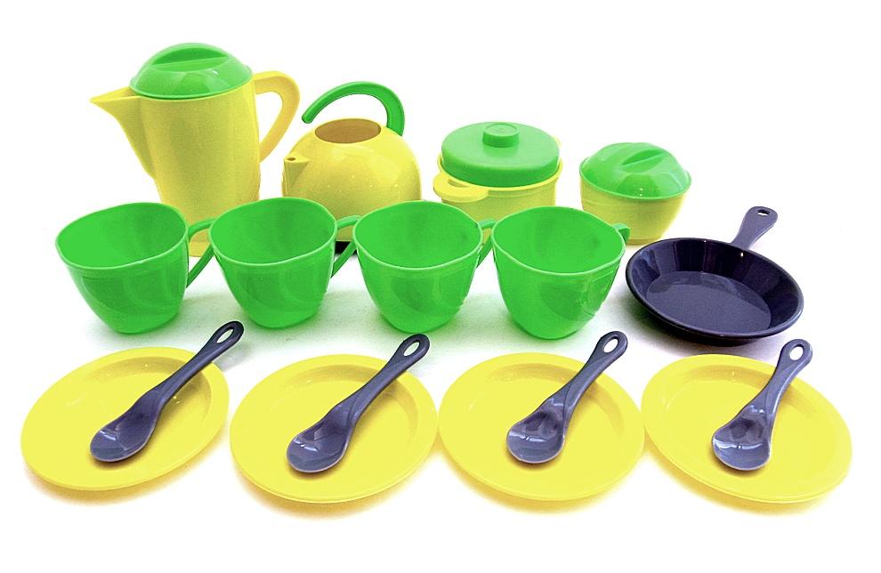 Набор посуды 20 предметов в пакете (18шт  924 в 3