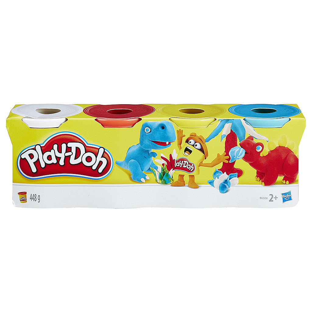 Play-Doh B5517 Игровой набор из 4-х баночек (в ассортименте)