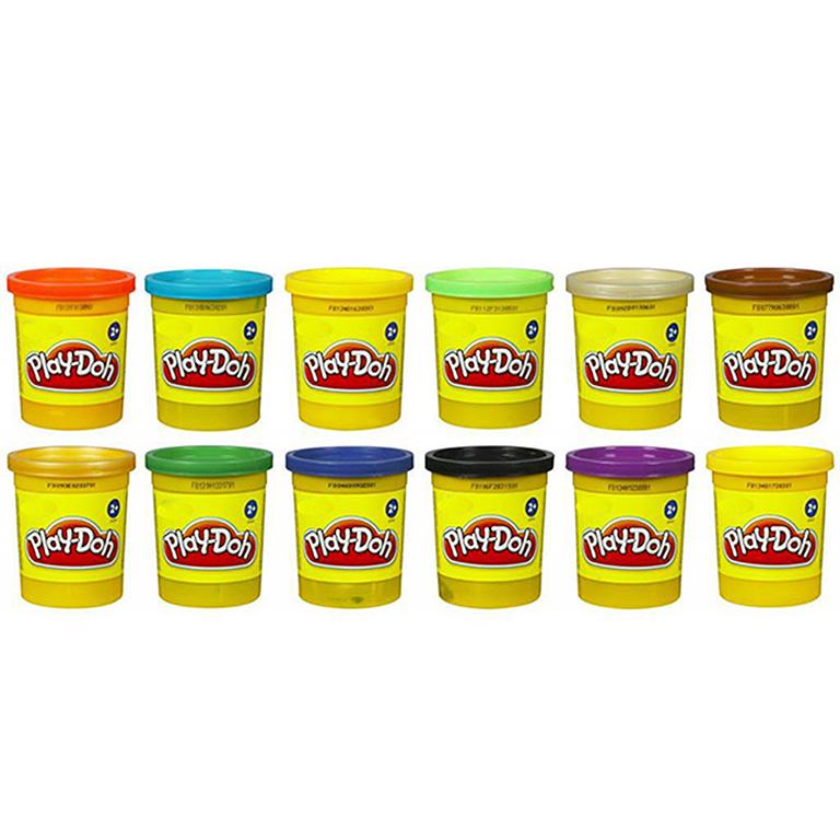 6756121В Play-Doh  1 баночка в ассортименте
