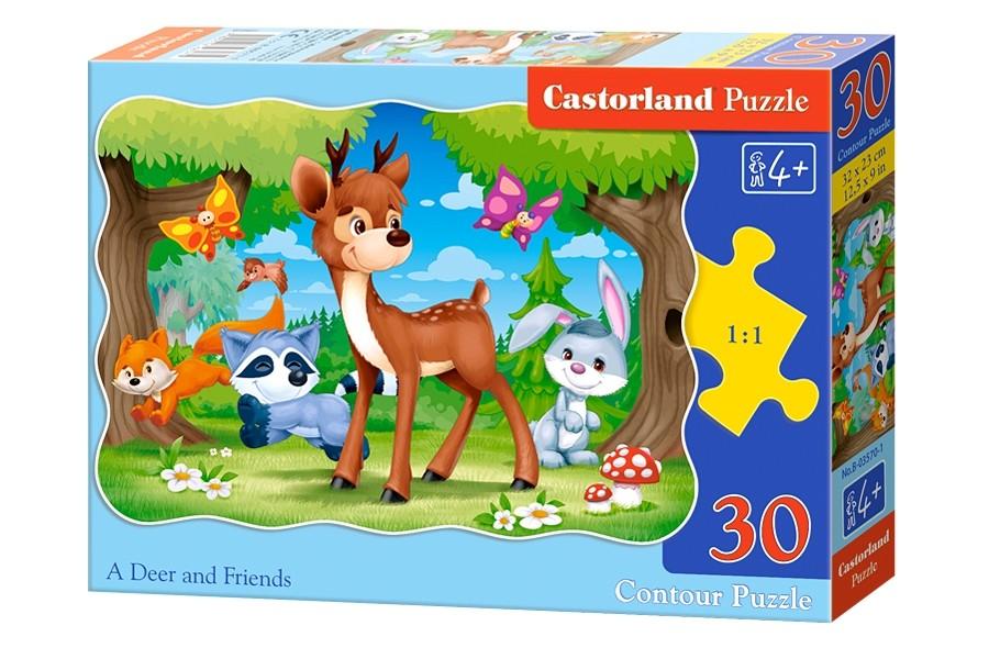 Пазлы Castorland 30   03570