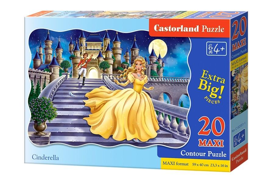Пазлы Castorland 20maxi   02351