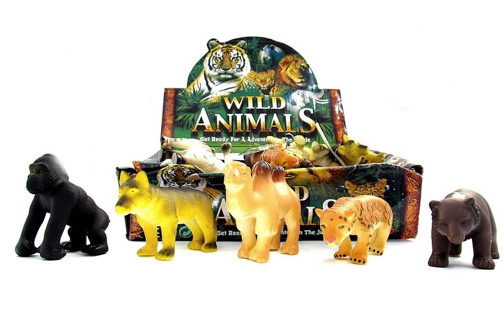 Животные 24шт в блоке D2822