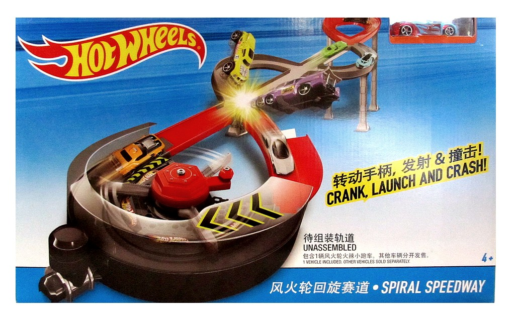 "X 2589 HOT WHEELS Трек ""Гонки по спирали"""