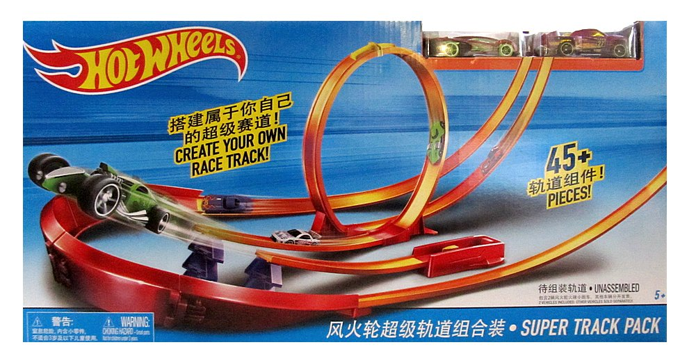 "Y0276 HOT WHEELS Трек ""Super Track Pack"""
