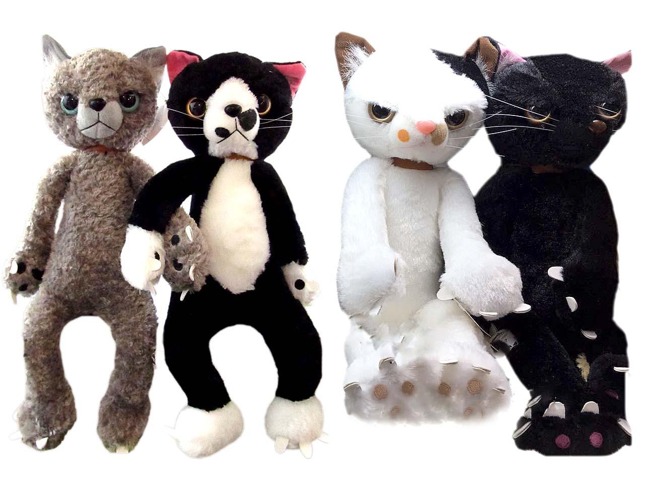 Кот мягкая игрушка (w77) 864