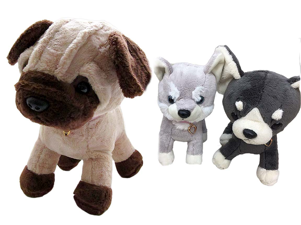 Собачка  мягкая игрушка (w78) 8606