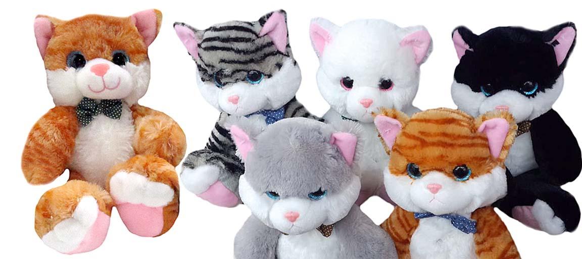 Кот мягкая игрушка (w111) 20113