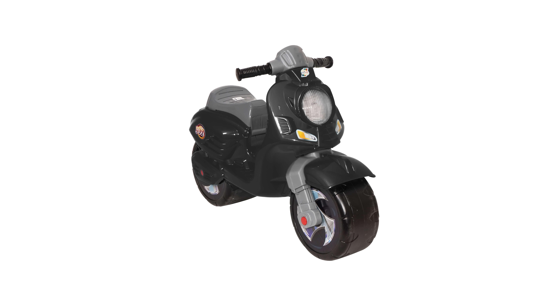 Мотоцикл 502 чер СКУТЕР ЧЕРНЫЙ в пакете (3шт)
