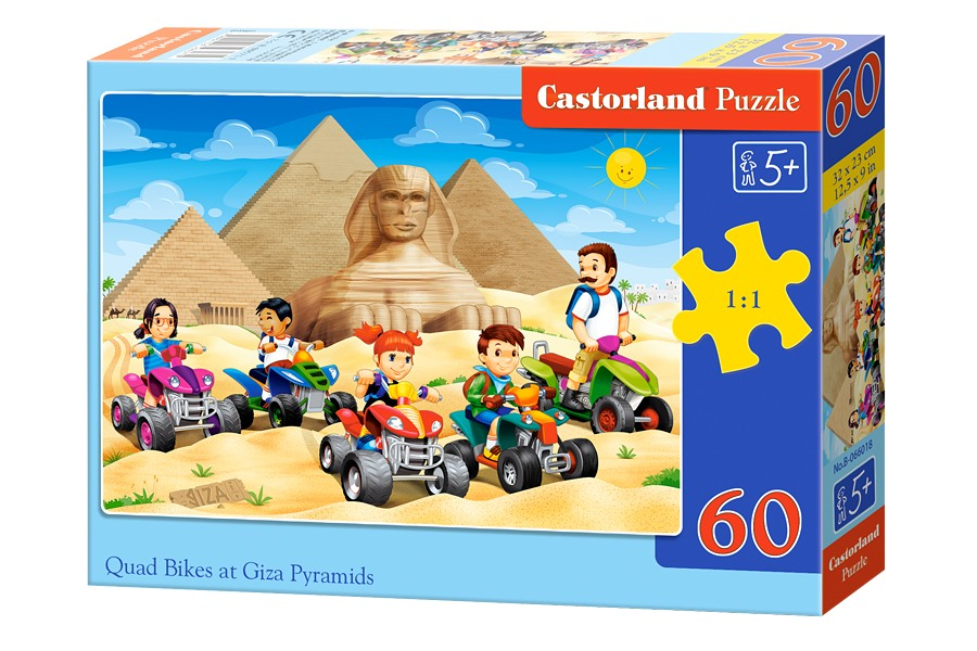 Пазлы Castorland 60  066018