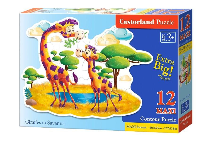 Пазлы Castorland 12 MAXI 120178