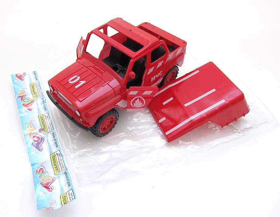 А/м УАЗ №J0092F «Пожарный» инерционный/пакет
