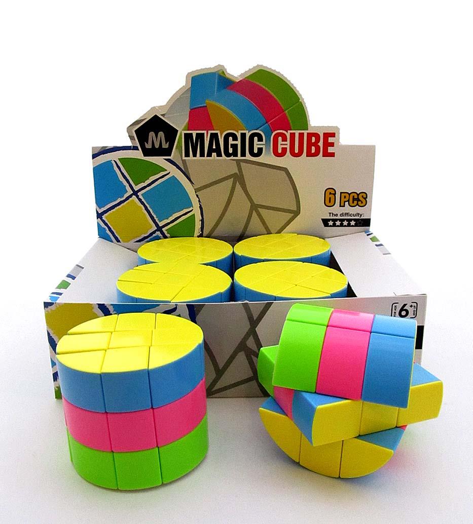 Кубик-Рубик 6 шт в блоке 2188-13/8802