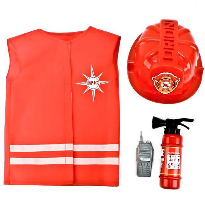 Набор 92817 МЧС №2 в чехле-жилет,огнетушитель,каска,рация