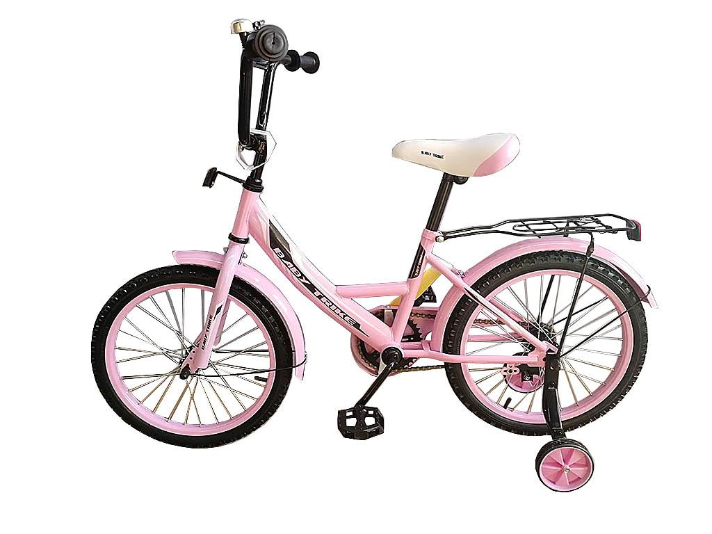 "Велосипед ""18""  2-х колес YM-CBK-458 Pink"