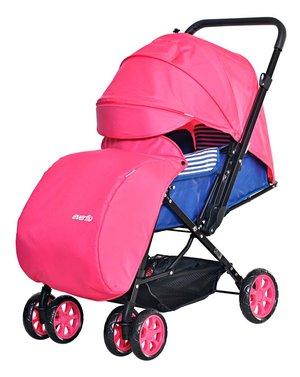 Коляска прогулочная Everflo Range pink  E-200
