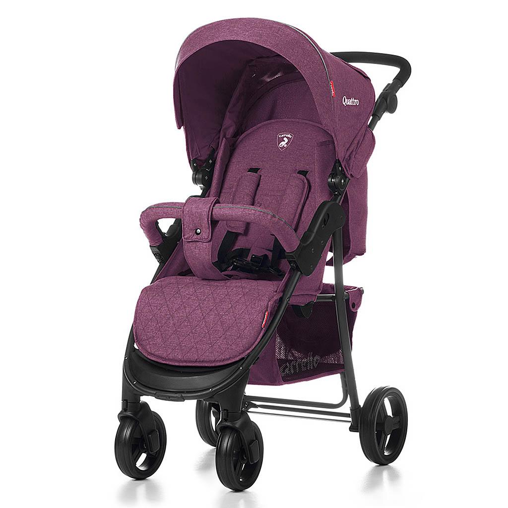 Детская коляска CARRELLO Quattro CRL-8502 PURPLE / Amethyst