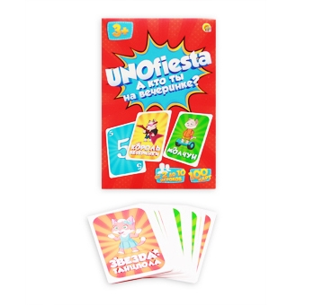 Настольная игра.  УНОФИЕСТА (UNOfiesta) (Арт. ИН-6336)