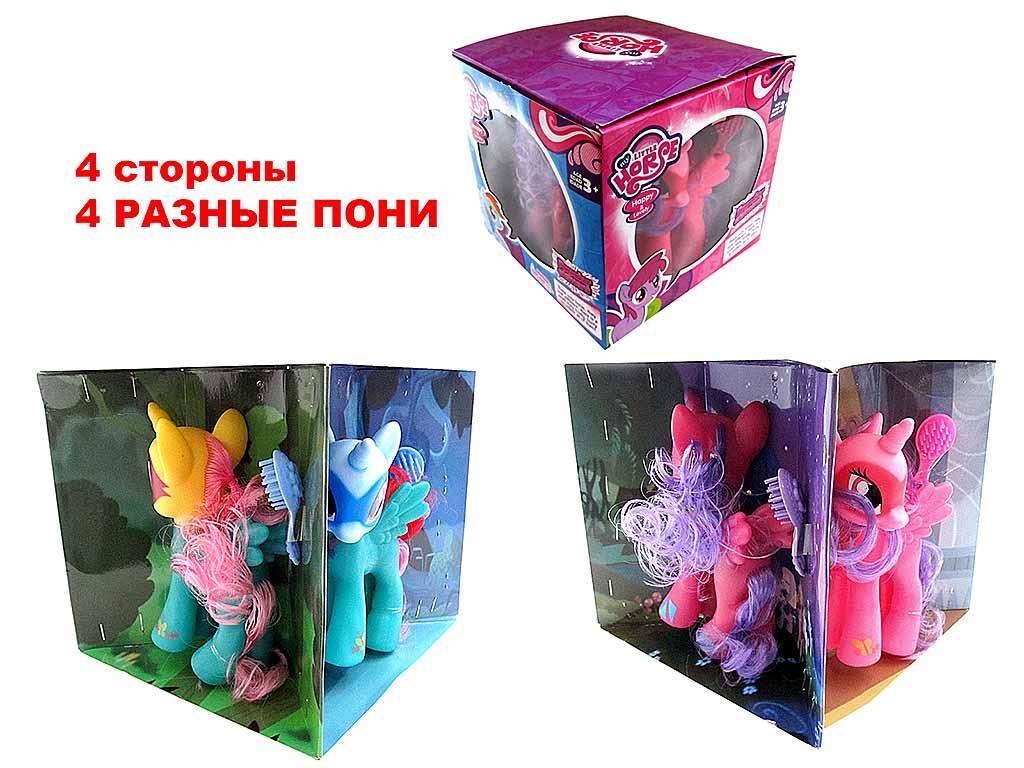 Лошадки (4шт в упаковке) 4808А