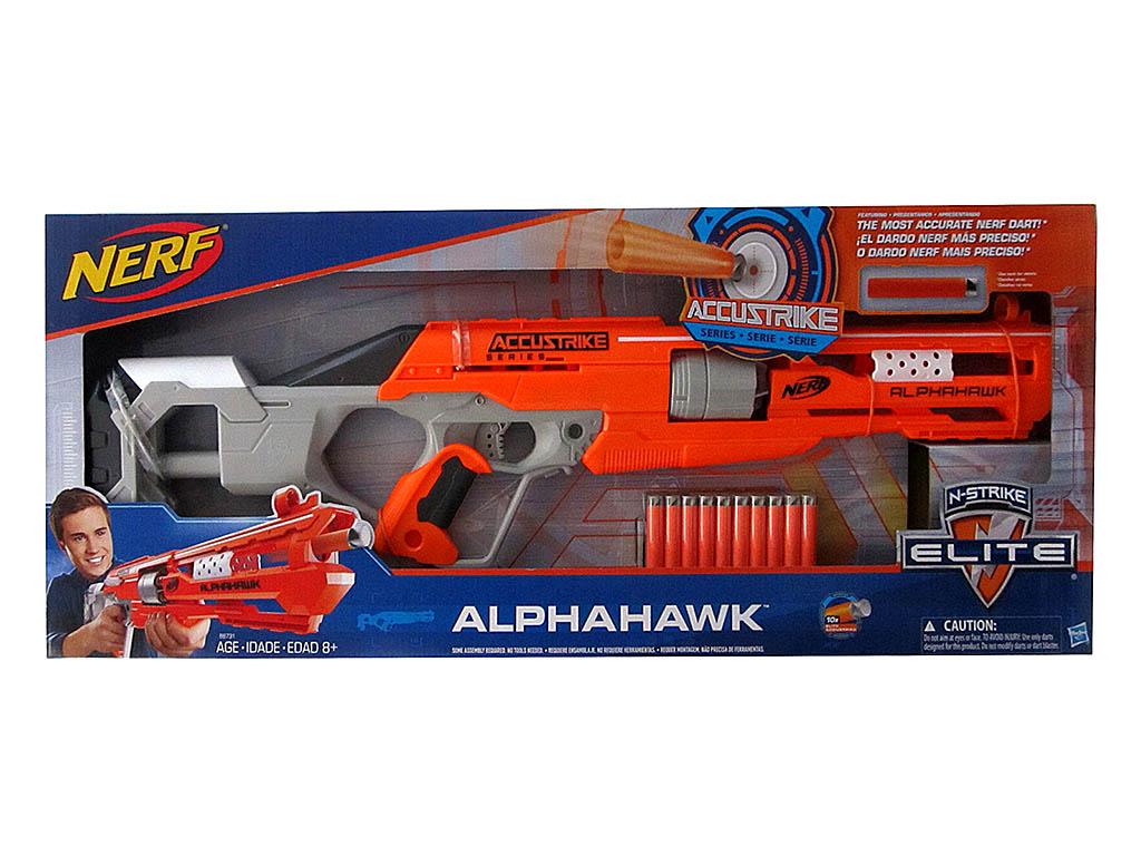 Оружие  NERF ALPHAHAWK 8731SB00/2072