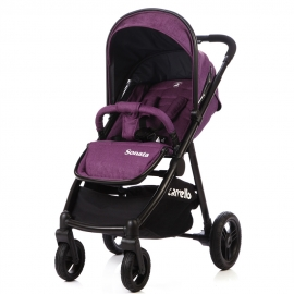 Коляска детская CARRELLO Sonata CRL-1416 Grape Purple