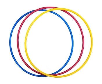 ОБРУЧ (диаметр 70 см, ассорти) (Арт. ОГ-8681) кратно 10
