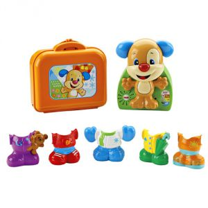 DRH53 FISHER PRICE. СМЕЙСЯ И УЧИСЬ.ИГРА «НАРЯДИ ЩЕНКА»