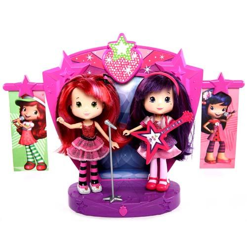 Шарлотта Земляничка Две куклы 15 см на сцене 12245