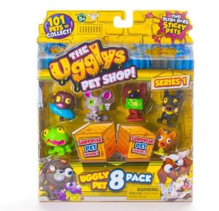 Ugglys Pet Shop-фигурка 8 штук в н-ре 19409