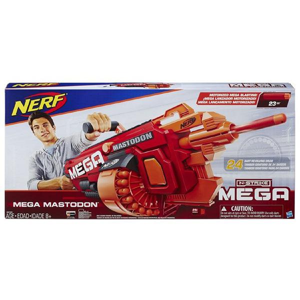 8086 Hasbro Nerf МЕГА Мастодон (бластер)