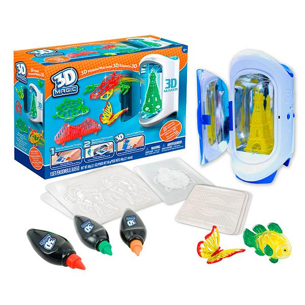 81000 Набор 3D Magic для создания объемных моделей 3D Maker