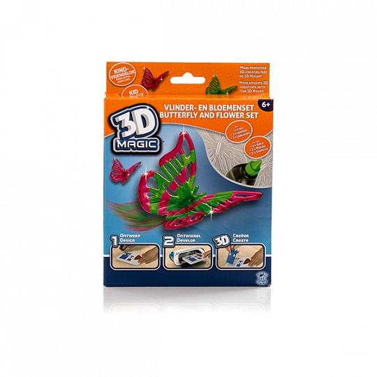 82001 Набор 3D Magic для создания объемных моделей - бабочка и цветок