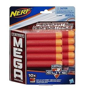 НЁРФ Комплект 10 стрел для бластеров МЕГА А4368