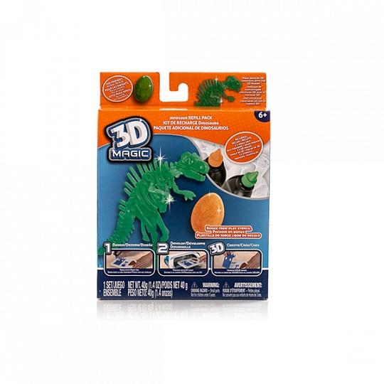 83001 Тематический набор 3D Magic для создания объемных моделей - тиранозавр рекс