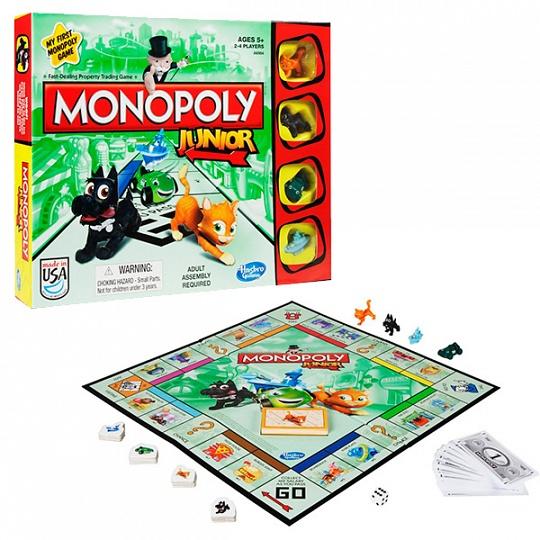 6984А  Игрушка игра Моя первая Монополия