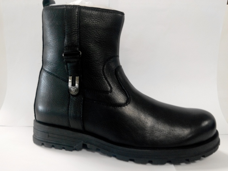 Ботинки нат. 4296 А мальчик черный