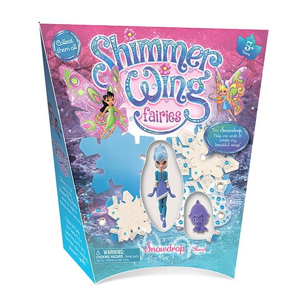 0004SWFb Игровой набор Shimmer Wing Фея Снежинка